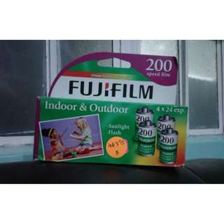 Fujifilm ISO 200 35mm Film 24 Exposures (4 pack)