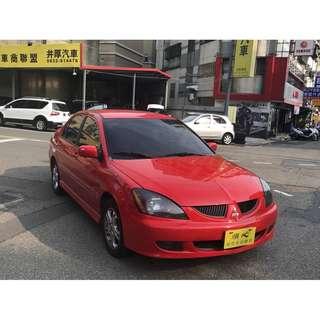 <小馬愛車> 2004 Mitsubishi Lancer 1.6 紅