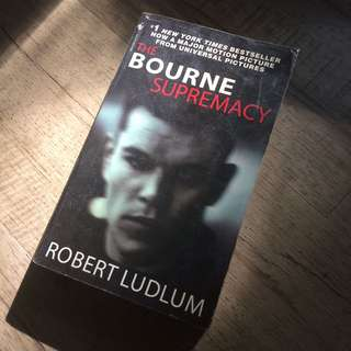 BOURNE SUPREMACY by robert ludlum