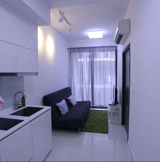 1bedded Condo for Rent