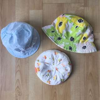 Baby Hats (Pureen / Embroidery / Floral)