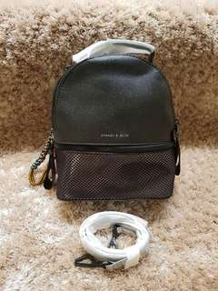 CHARLES AND KEITH HOLO BACKPACK