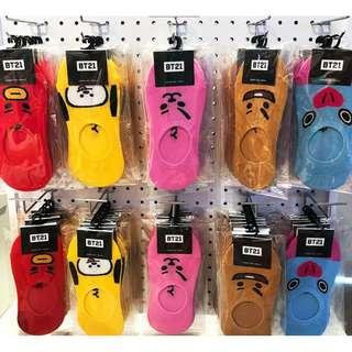 7Pcs for 1500 BTS Bangtan Boys TATA Socks