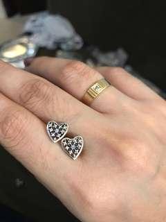 Pandora Sterling Silver Earrings 💎 free pouch