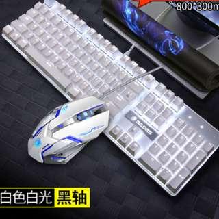 sades K10 black switch REAL Mechanical Gaming Keyboard