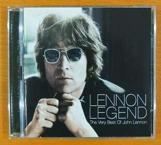 """CD + DVD: John Lennon """"Lennon Legend - The Very Best of John Lennon"""". *1 CD & 1 DVD"""