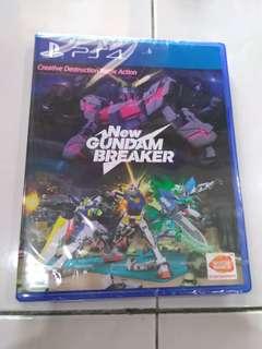 New ps4 game - New gundam breaker