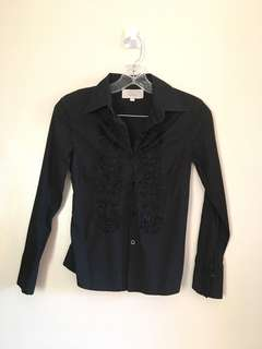 The Black Shop Long Sleeve Shirt for Women