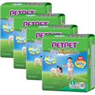 [BNIB] PetPet Pants (L) - 4 packets