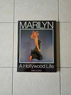 Hard Cover Page 118 A Holly Wood Life Marilyn 📖 Condition Yellowing 9/10