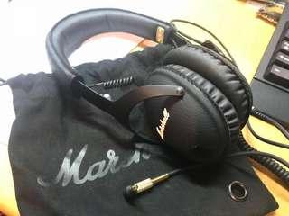 Marshall Monitor - Android Black 耳機