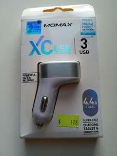 Momax 車充 3USB