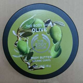 Brand new The Body Shop body butter 50ml - olive