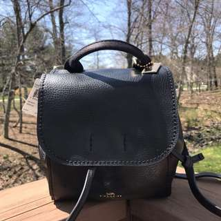 Coach Derby Backpack in Black