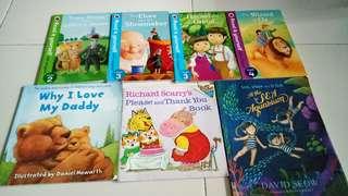 Preloved children storybooks (7books)