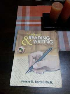Academic Reading and Writing For Senior High School