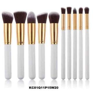 10 pcs makeup brush 💓
