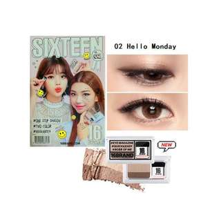 16 Brand Korean Eyeshadow