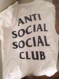 Anti Social club T-shirt for sale!