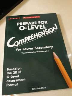 English O levels Compre book (Lower Sec)