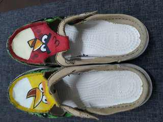 Crocs limited edition Hungry Birds