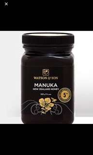 WATSON AND SON Manuka Honey 5+
