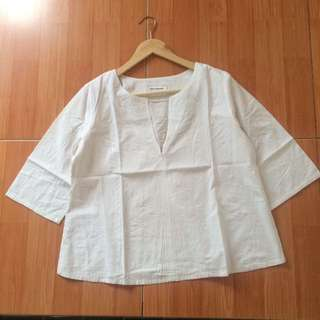 BW Blouse by Cottonink
