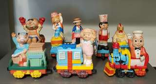 Jollibee Vintage 1987 Jolly Express Train (Complete)