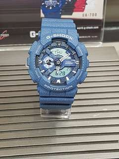 G-Shock 110DC-2ADR Promo Bunga 0% Dp 0% Cukup Admin 199.000