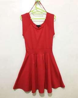 Dainty Red Dress