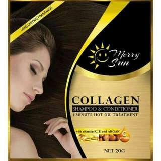 Merry Sun Collagen Shampoo and Conditioner💛