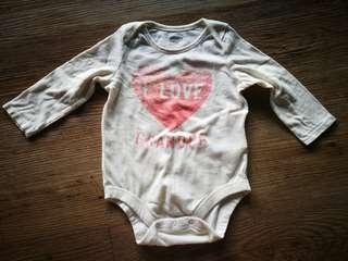 Baby Gap 'I Love Grandma' Romper