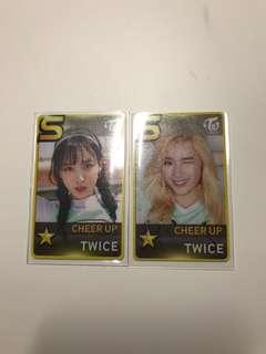 Twice小卡