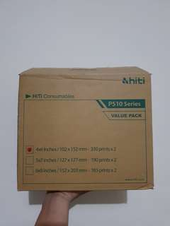 Printer Ribbon Paper Hiti P510 Series size 4x6 (4R)