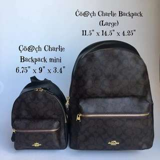 AUTHENTIC COACH CHARLIE BACKPACK