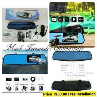 Dashcam Dual Camera QCY A70