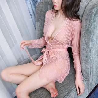 *FREE SHIPPING *READY STOCK* Sexy Lingerie Sleepwear Nightwear Dress Pyjamas Robe