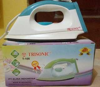 Setrika Murah merk Trisonic Biru