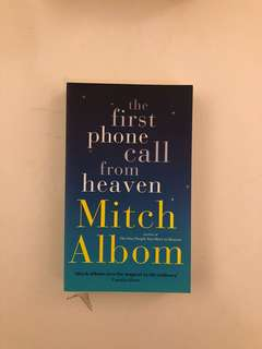Mitch Albom - First Phone Call From Heaven