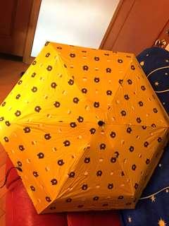 熊大四骨縮骨雨傘