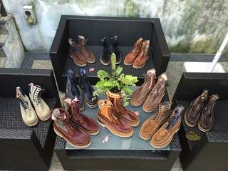 Visvim Grizzly Boots - 10 pairs for sale (all size 9.5)