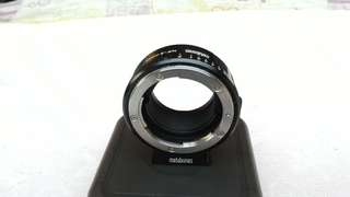 Metabones nikon adapters E mount