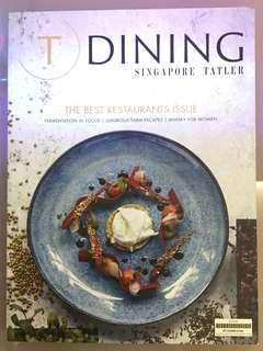 🚚 The Best Restaurants Issue (Singapore Tatler)