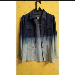 Denim shirt / kemeja denim