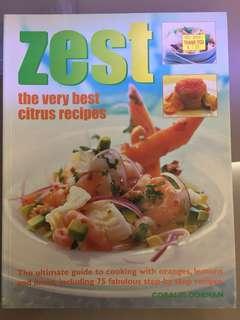 🚚 Zest by Coralie Dorman Cookbook