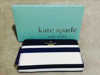 Kate Spade Blue Black White