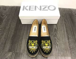 Kenzo 草鞋 loafer