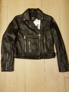 Zara Leather Jacket (M)
