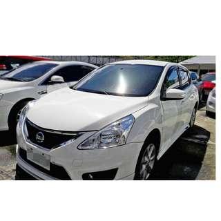 【老頭藏車 】2013 Nissan Tiida『0元就把車貸回家 』『全貸,超貸,免保人』中古 二手 汽車