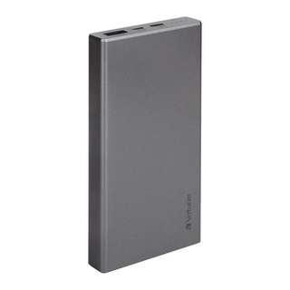 Verbatim PowerPack 10000mAh QC3.0流動充電器 原裝行貨1年 太空灰